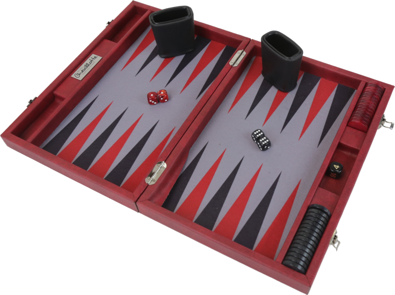 Backgammon Rouge